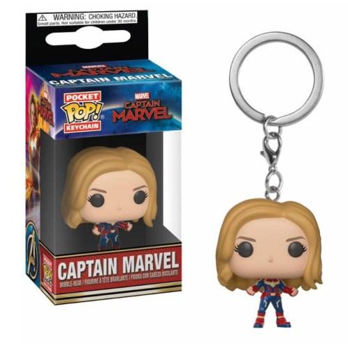 portachiavi Pocket pop Keychain Captain Marvel