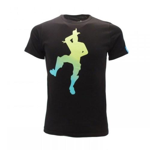 t-shirt fortnite sagoma sfumata