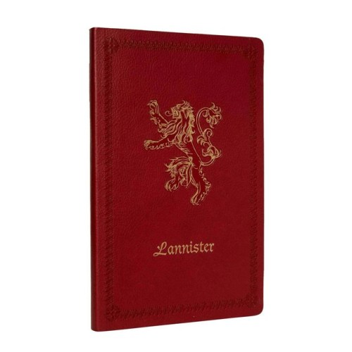 notebook Lannister effetto pelle Game of Thrones