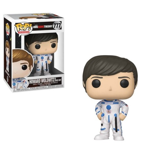 Funko Pop Howard Wolowitz in Space Suit Big Bang Theory 777