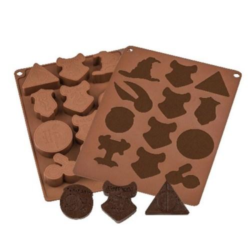 Stampini per cioccolatini con simboli a tema Harry Potter