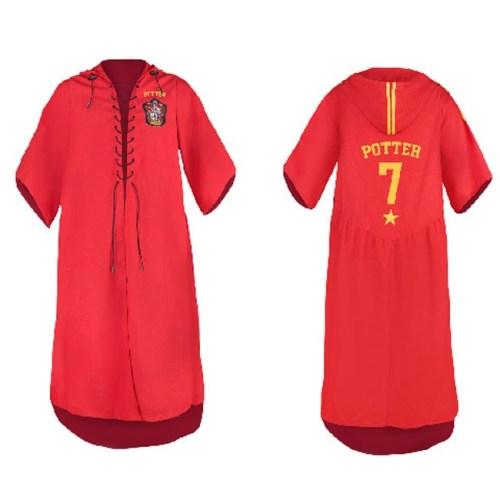 tunica rossa quidditch grifondoro Harry Potter