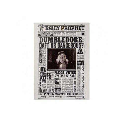 biglietto augurale Lenticolare Dumbledore Daft or Dangerous