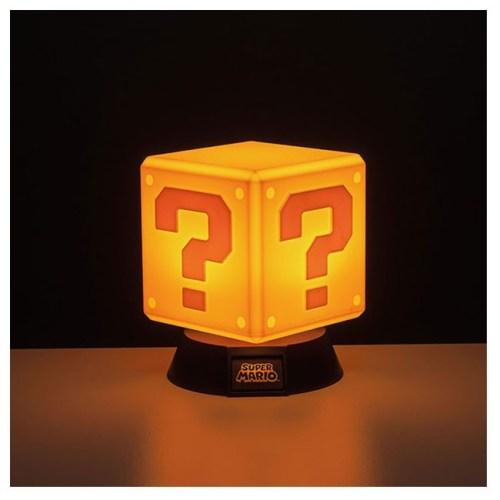 lampada question block super mario