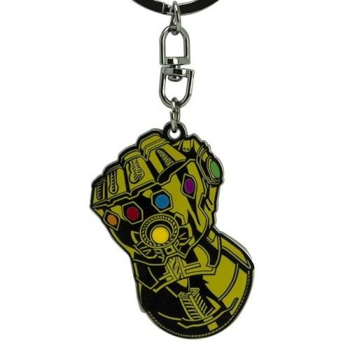 portachiavi infinity gauntlet Marvel dettaglio