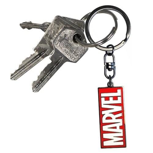 portachiave logo marvel dettaglio chiavi