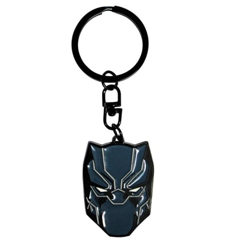 portachiavi Black panter mask marvel