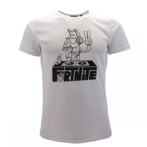 t shirt bambini Fortnite Lama DJ