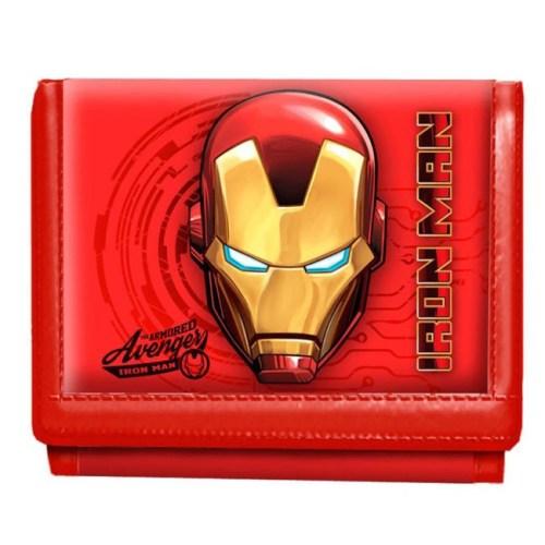 Portafoglio Iron Man stampa rilievo