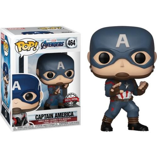 funko pop captain america avengers marvel 464