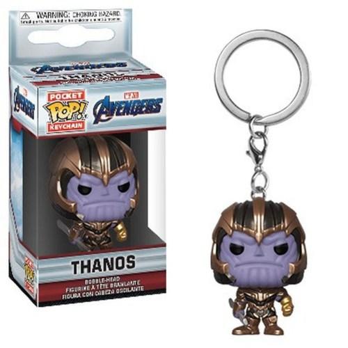 pocket pop keychain thanos avengers marvel