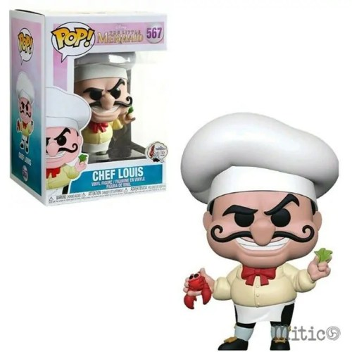 Funko Pop Chef Louis the little mermaid disney 567