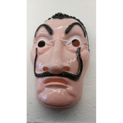 Maschera Salvador Dali Casa de Papel fronte