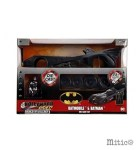 Batman con Batmobile da costruire Die Cast Kit