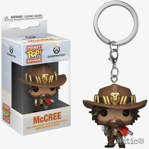 Poket Pop Keychain McCree Overwatch