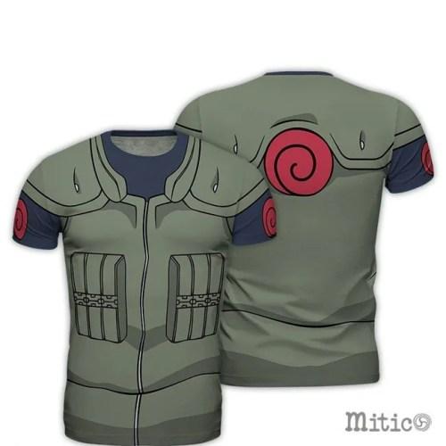 t-shirt full print Kakashi Naruto