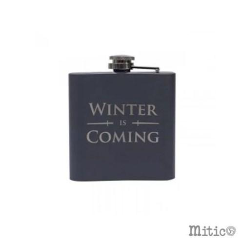 fiaschetta Stark Winter is Coming game of thrones retro