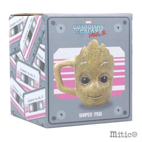 tazza 3D Groot piccola scatola