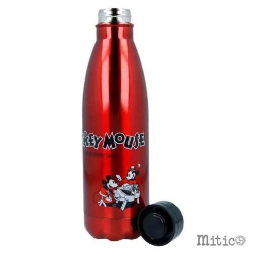 bottiglia in metallo Mickey Mouse