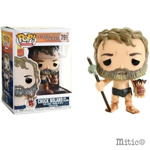 funko pop Chuck Noland and Wilson Cast Away 791