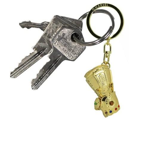 Portachiavi 3d Guanto Thanos Marvel dettaglio chiavi