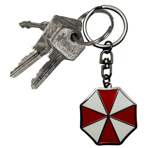 Portachiavi Umbrella Corp Resident Evil dettaglio chiavi
