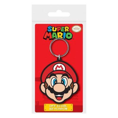 Portachiavi in gomma Super Mario