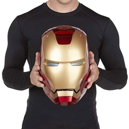 Casco Elettronico Iron Man Marvel Hasbro dettaglio dimensione