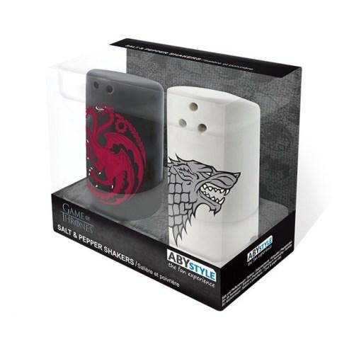 Set Sale e Pepe Game of Thrones retroSet Sale e Pepe Game of Thrones scatola