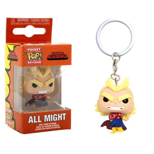 Pocket Pop Keychain All Might Silver Age My Hero Academia