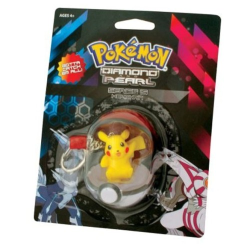 Portachiavi Pickachu e pokeball
