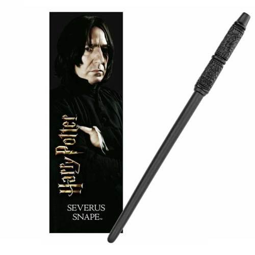 Bacchetta con segnalibro 3D Severus Piton Snape