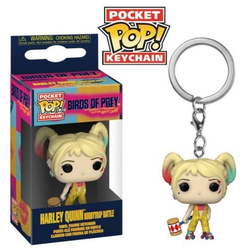 Pocket Pop Keychain Harley Quinn Boobytrap Battle