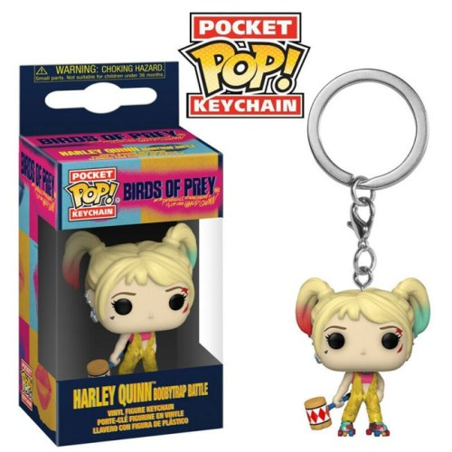 Pocket Pop Keychain Harley Quinn Boobytrap Battle