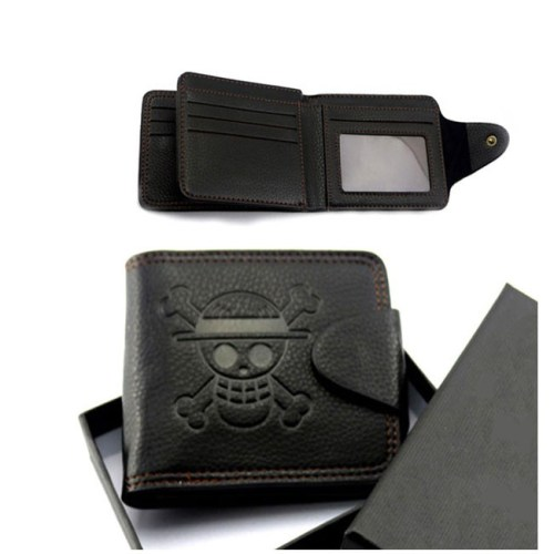 portafoglio nero one piece
