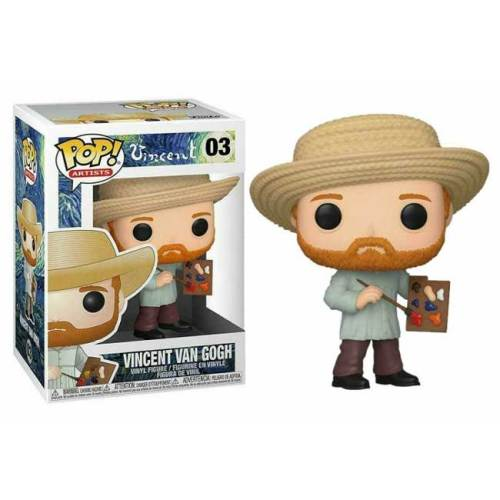 Funko Pop Vincent Van Gogh 03