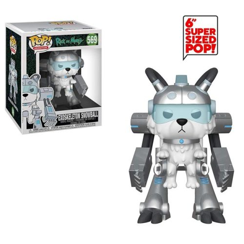 Funko Pop Exoskeleton Snowball Rick and Morty 569