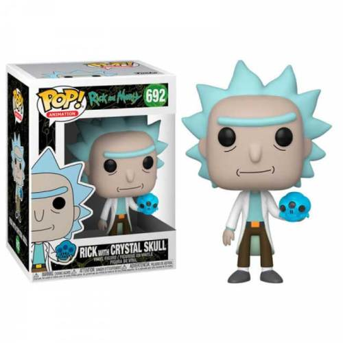 Funko Pop Rick with Crystal Skull Rick and Morty 692