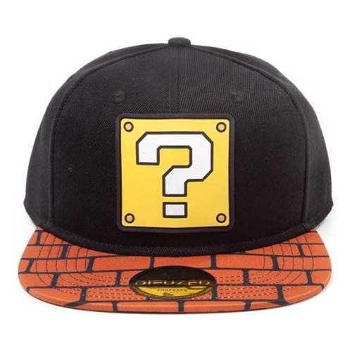 Cappello con visiera e cinturino regolabile Super Mario Question Block