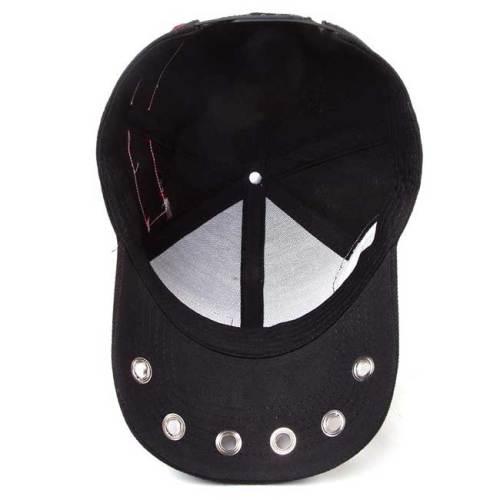 Cappello con visiera e cinturino regolabile The Punisher con patch interno