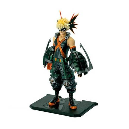 Action Figure Katsuki Bakugo My Hero Academia Metal Foil Exclusive