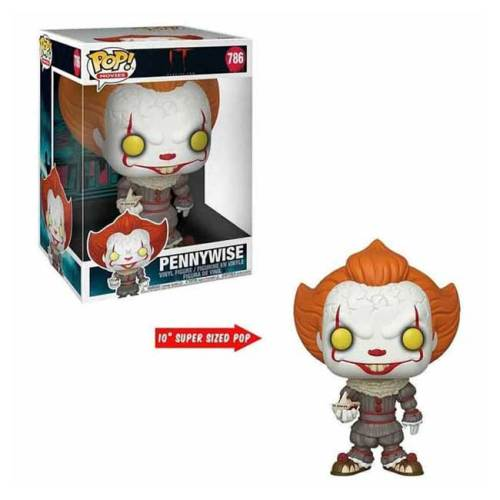 Funko Pop Pennywise IT 786 Super Sized 25 cm