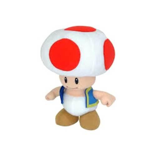 Funghetto Red Toad Peluche Super Mario 20 cm