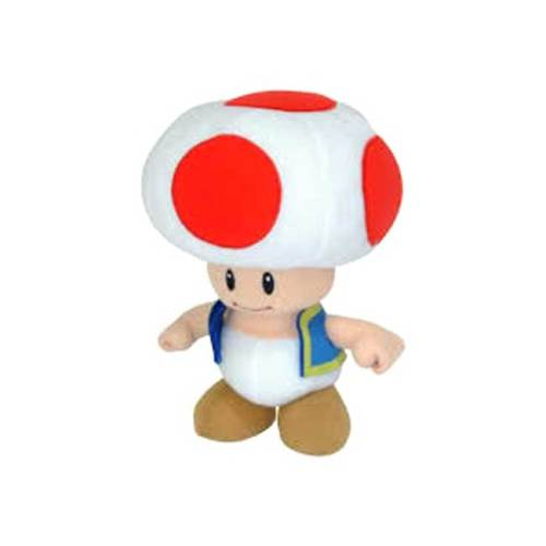 Funghetto Red Toad Peluche Super Mario 20 cm
