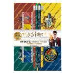 Set scuola Quaderno A5 Temperino quattro matite e righello