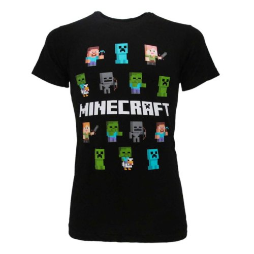 T-Shirt Minecraft Personaggi