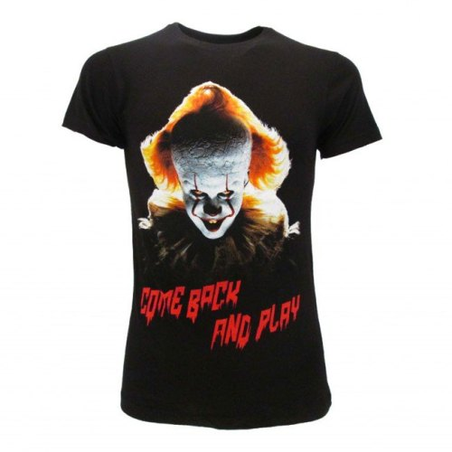 T-shirt Pennywise Come Back and Play
