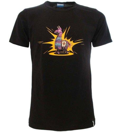 T-shirt nera Fortnite Loot Lama