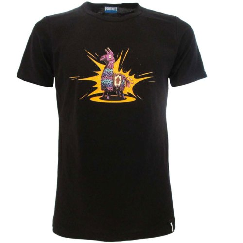 T-shirt nera Fortnite Loot Lama