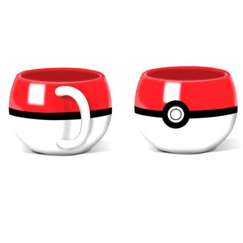 Sfera Pokeball Tazza 3D Pokemon